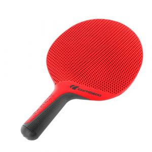 CORNILLEAU Raquette Souple Eco Motif Raquette de Tennis de Table Taille Unique Red