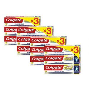 Colgate Total Dentifrice Blancheur 3x75ml