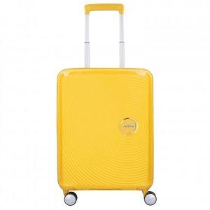 American Tourister Soundbox Spinner Extensible, 55cm, 35,5/41 L - 2,6 KG, Jaune (Golden Yellow)