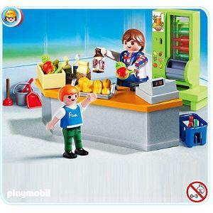Playmobil 4327 - Boutique et Matériel d'entretien