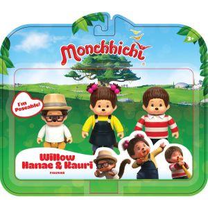 Silverlit 3 figurines Monchhichi