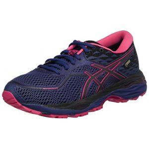 Asics Gel-Cumulus 19 G-TX, Chaussures de Running Femme, Bleu