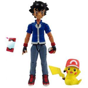 Tomy Coffret exclusif 20 ans : figurines Sacha et Pikachu Pokémon