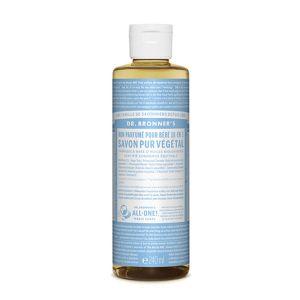 Dr Bronner's Savon liquide doux bébé sans parfum 236 ml