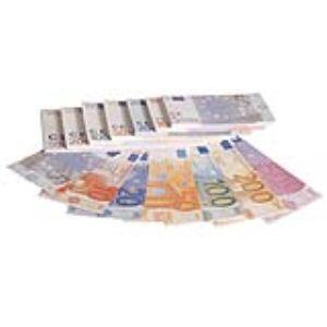 Sachet de 140 billets factices en Euro