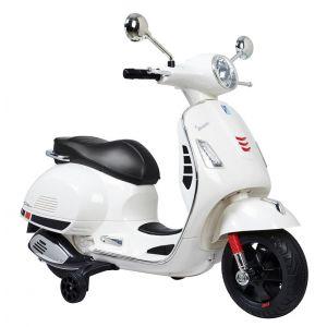 Rusher Moto Vespa 6V blanche
