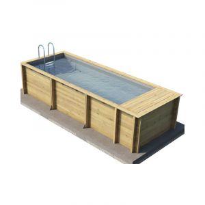 Proswell Piscine bois hors-sol POOL'N BOX 6.20x2.50m