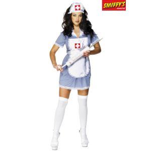 Tenue d'infirmière (taille S, M, L ou XL)