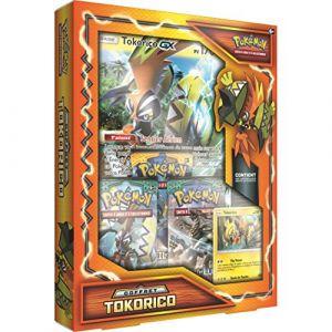 Asmodée Tokorico - Coffret collector cartes Pokémon Soleil Et Lune 2 Sl2