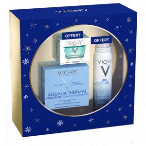 Vichy Aqualia Thermal peau normale à mixte - Coffret Crème Légère Hydratant Dynamique + Masque Minéral Désaltérant + Eau Thermale Minéralisante