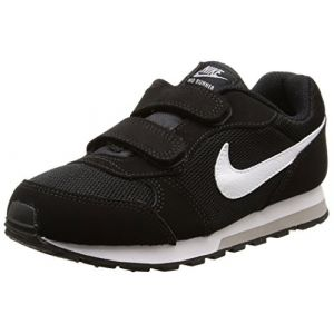 Nike MD Runner 2 (PSV), Baskets Basses Garçon, Noir (Black/White/Wolf Grey 001), 27.5 EU