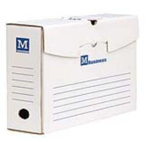 Majuscule 50 boîtes à archives en carton ondulé dos de 20 cm