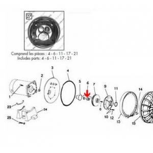 Procopi 571008 - Garniture mécanique de pompe Sta-Rite P2R