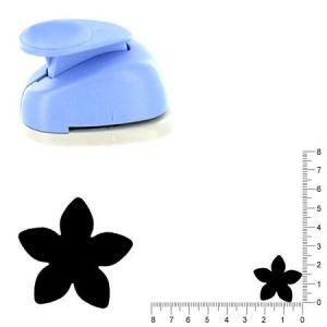 Artémio Moyenne perforatrice - Fleur 4 - 2.5 cm