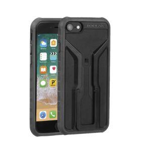 Topeak RideCase pour iPhone 6/6S/7/8 Coque avec support, black/grey Accessoires smartphone