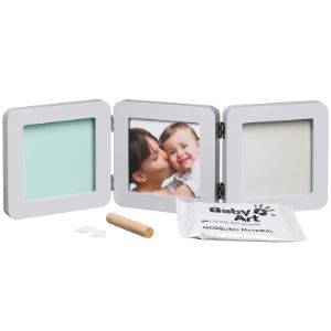 Baby Art Cadre photo Modern Double Print Frame avec empreinte
