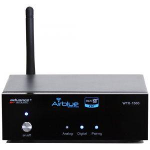 Advance Acoustic WTX 1000 Module récepteur Bluetooth audio APTX/AD2P Noir