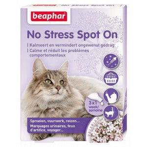 Beaphar No Stress Spot On chat 3 pipettes