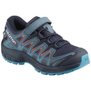 Salomon Chaussures Xa Pro 3d Cswp Kid - Navy Blazer / Mallard Blue / Hawaiian Surf - Taille EU 30
