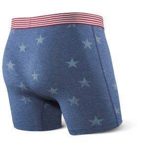 Saxx Underwear Vêtements intérieurs Vibe Boxer Modern Fit - Chambray Americana - Taille XL
