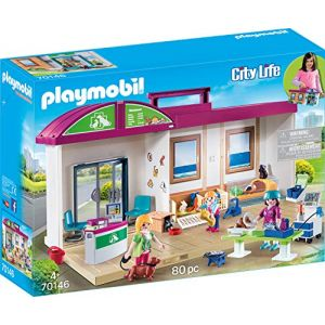 Playmobil 70146 - Clinique Vétérinaire Transportable