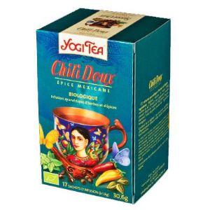Yogi Tea Chili Doux (Épice Mexicaine) - Infusion ayurvédique Bio d'herbes et d'épices
