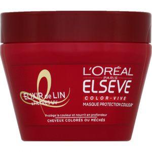 L'Oréal Masque soin à l'élixir protecteur de couleur - le pot de 300 ml