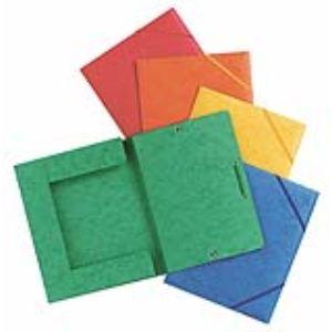 Elba Chemise 3 rabats à élastique carte lustrée (17 x 22 cm)