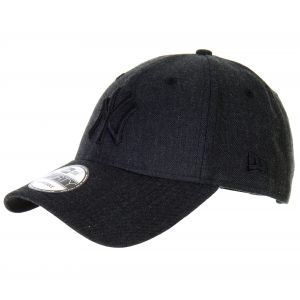 New era Casquette 9FORTY Heather Essential New York Yankees Noir chiné Ajustable