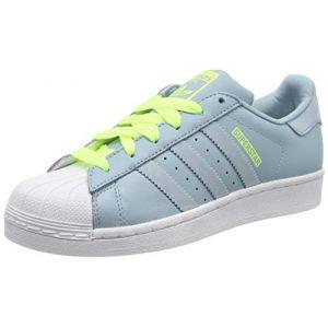 Adidas Superstar J, Chaussures de Gymnastique mixte enfant - Gris