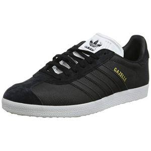 Adidas Originals Gazelle - Baskets en cuir - noir