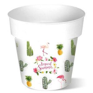 Cache-pot rond Cactus - 12 L - Ø 30 cm