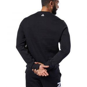 Reebok Sweat-shirt Sport Te big logo crew black Noir - Taille EU S,EU M