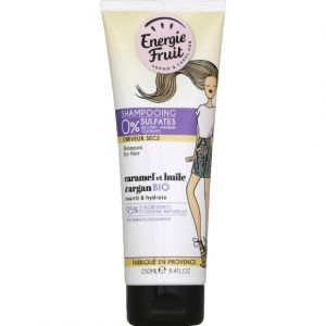 Energie Fruit Caramel et huile d'argan Bio - Shampoing Shampooing 0% sulfates nourrit & hydrate