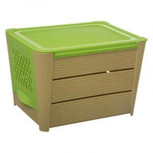 Snips Boîte de conservation pour légumes avec couvercle fraîcheur TRI jaune