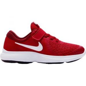 Nike Chaussures running Revolution 4 Psv - Gym Red / White - Taille EU 31 1/2
