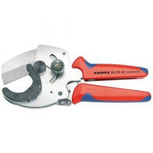 Knipex 90 25 40 - Coupe-tubes pour tubes Multicouche et tubes plastique 210 mm