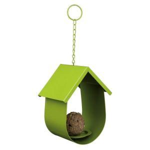 Trixie Mangeoire en métal à oiseaux pour boule de graisse