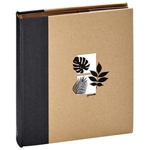 Panodia 271300 Greenearth Album Photos Pochettes 500 Vues 11,5X15 cm Noir Papier Kraft 5,6x35x37 cm