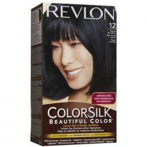 Revlon Colorsilk Beautiful Color Hair Color - 12 Natural Blue Black