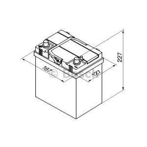 Bosch 0092S40190 - Batterie de démarrage