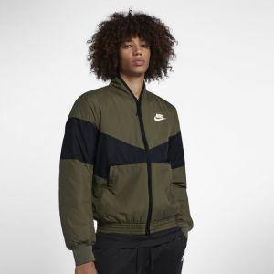 Nike Veste aviateurà motifs Sportswear Synthetic Fill pour Homme - Olive - Couleur Olive - Taille M