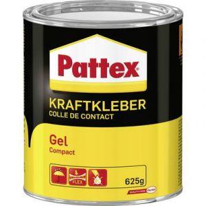Pattex Colle de contact Compact Gel, avec solvant, boîte de