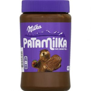 Milka Pâte à tartiner chocolat noisette Pata