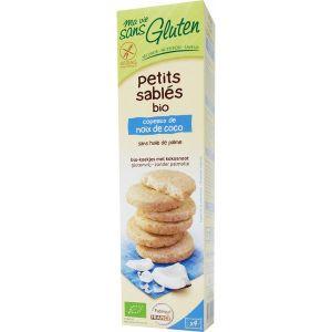 Ma vie sans gluten Petits sablés Bio sans gluten à la noix de coco (150g)