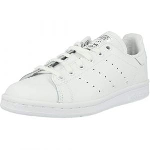 Adidas Stan Smith Cursive Logo Originals Blanc/argent 38 Enfant
