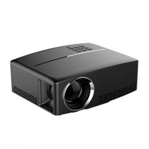 Yonis Vidéoprojecteur LED 1800 Lumens 1080p Home Cinéma HDMI VGA USB