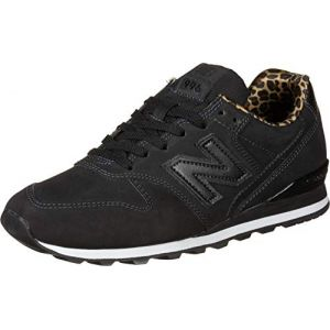 New Balance Chaussures WL996CK Noir Leopard Noir - Taille 36,37,38,39
