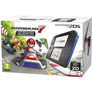 Nintendo 2DS - Console de jeu portable - noir, bleu