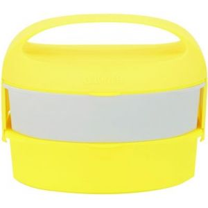 G.Lunch Lunch box Bento 1.3L Jaune Fluo